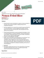 Nonya Fried Rice