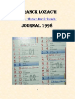 Franck Lozac'h Journal 98