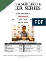2013 LA Poker Series Event 10 - The Bicycle Casino