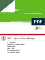 LVM e RAID - slp