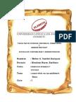 Informe de Derechos Humanos y Sociales