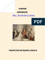 Euripide Andromaque Traduction Franck Lozac'h
