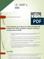 ISO 9000-3, 12207 y Modelo CMM Expo
