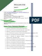 Curriculum Vitae. Emil 2011(1)