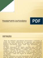 Transporte Dutoviario