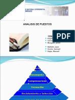 Unidad III ANÁLISIS DE PUESTO
