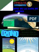 Agotamiento de La Capa de Ozono Exp