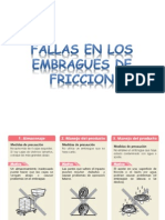 Fallas en Los Embragues de Friccion
