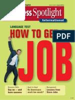 Business Spotlight - How to Get a Job