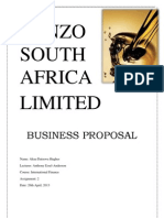 Ponzo Oil Company Proposal