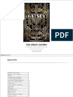 The Great Gatsby Entertainment Marketing and Cross Promotions Plan