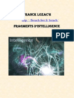 Franck Lozac'h Fragments d'Intelligence
