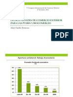 012 Oportunidades de Comercio Exterior Para La Mediana Pequena y Microempresa (Biocomercio)