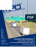Goods Movement in the Des Moines Metropolitan Area