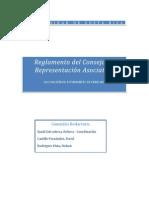 Reglamento del Consejo de Representación Asociativa