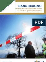 Handreiking communicatie bij maatschappelijke onrust na geweld november 2012 (uitgave