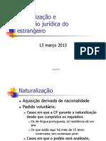 Jur1633 - Ponto 3 - Estrangeiros e Extrad - Mar2013