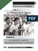 El Espiritu Santo y la misión