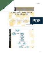 2013-06 Le point sur les productions du projet FutursProfs