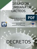 Presentacion Legislacion Lacteos