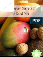 The 7 Secrets of a Good Diet