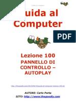 Guida al Computer - Lezione 100 - Pannello di Controllo - Autoplay