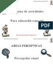 Programa de Actividades Para Educacion Especial Orientacion Andujar
