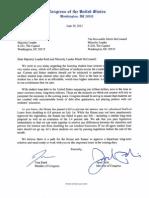 Student Loan Interest Rate Letter - June 19 2013