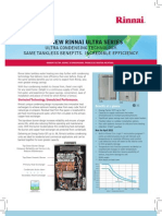 rinnai ultra series brochure