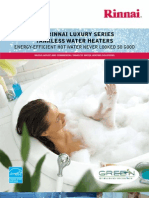 rinnai luxuryseries brochure