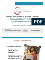 Students with Disabilities in Online Learning