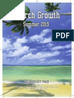 "The Summer ""Church Growth"" Magazine 2013"