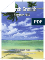 "The Summer ""Church Growth"" Magazine 2013"
