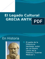El Legado Cultural de Grecia Antigua