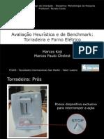 Analise Heuristica - Torradeira e Forno