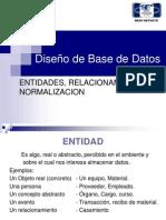 Deseño de base de datos  D2. E_R