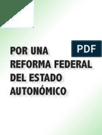 Reform a Estado Autonomic o Psoe Andalucia