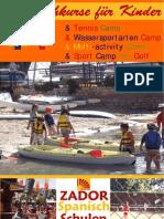 Spanischkurse für Kinder in Spanien Alicante 2009