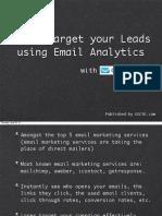 Getresponse Analytics Guide by [v+j success team}