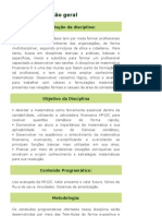 Matematica Financeira II