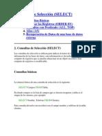 Funciones de Select SQL