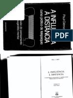 LIVRO INFLUÊNCIA À DISTÂNCIA - PAUL CLEMENT JAGOT