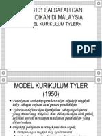 Model Kurikulum Tyler