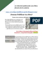 Ganar Dinero en Internet Publicando Obra Literaria