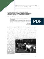 Etnomusicologia e amatorialità in Italia oggi