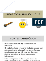 lutas sociais do sculo 19