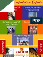 Cursos de Español en España, Alicante y Vitoria 2009