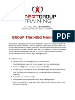 SGT GroupTrainingManifesto Final