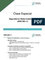 ClaseEspecial-SeguridadenRedesInalambricas