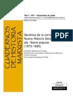 Historia Social 1975-1985